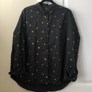 Star Button Up Shirt